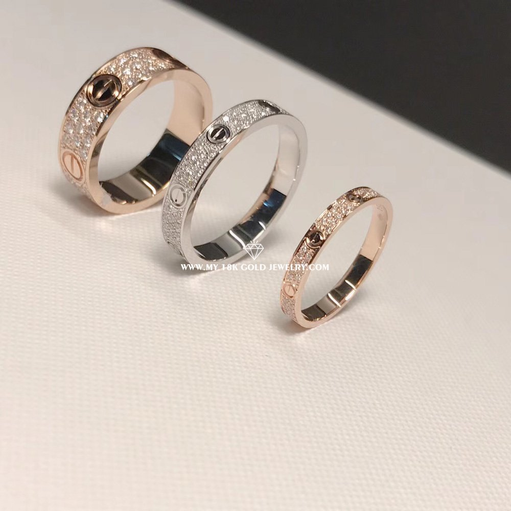f89e8912d03a7 Cartier Love Ring,Full diamonds-Olala In Jewelry - China High End ...
