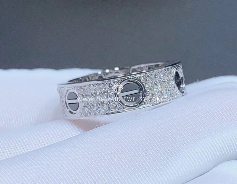537c3cc5ee005 Cartier love ring-Olala In Jewelry - China High End Custom Luxury ...