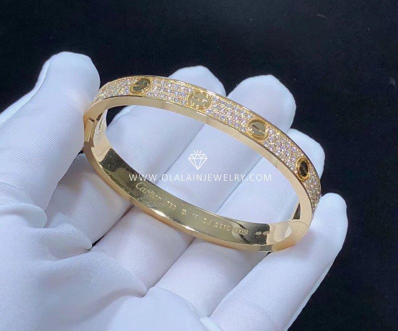 08696b566592c Cartier love bracelet,full diamond..-Olala In Jewelry - China High ...